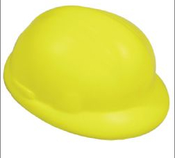 Hard hat anti stress shape