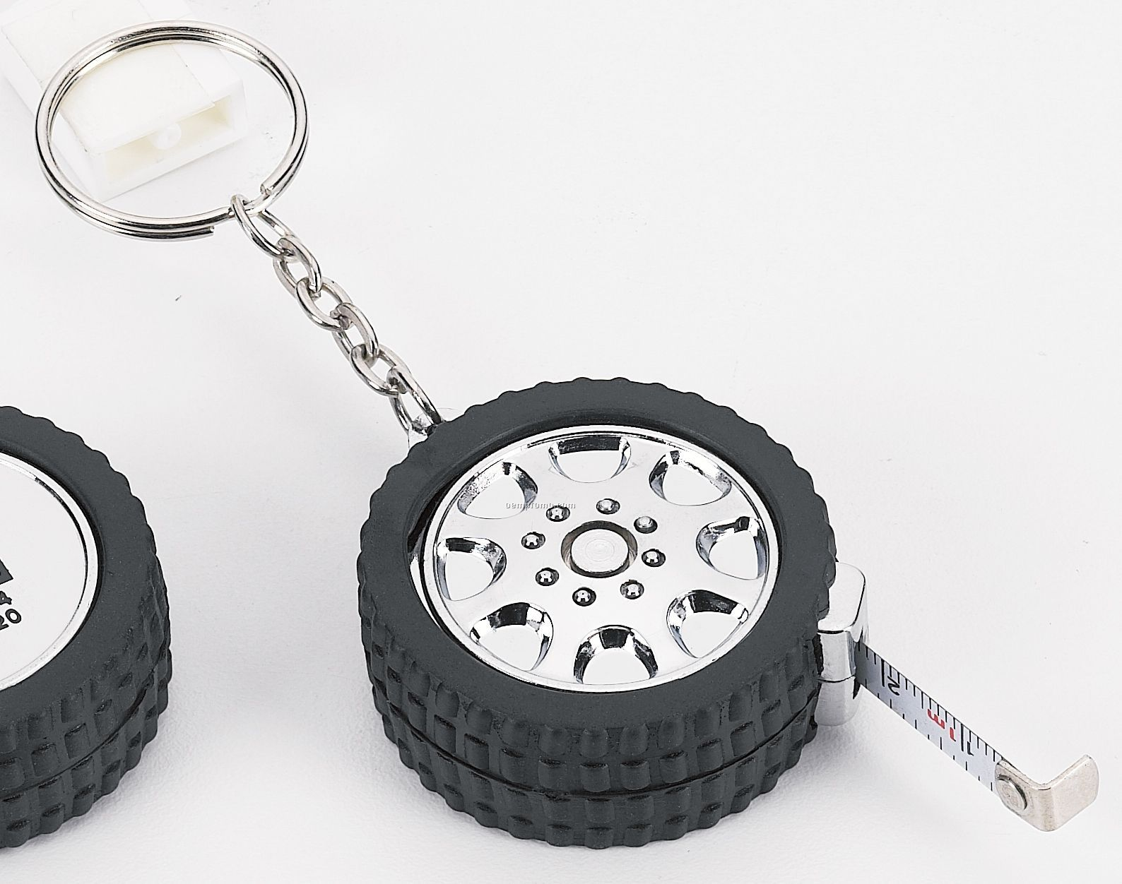 Tire Measuring Tape Keychain