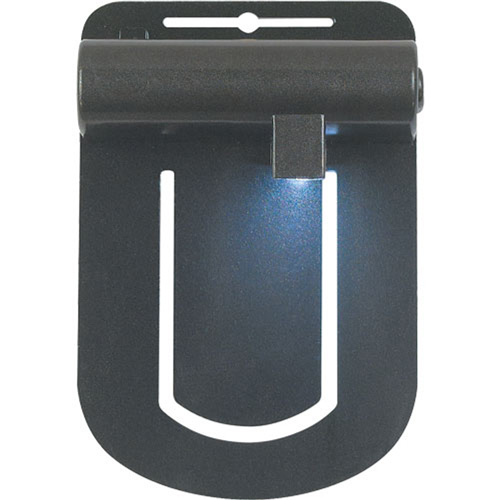 Clip On LED Book Light-Black