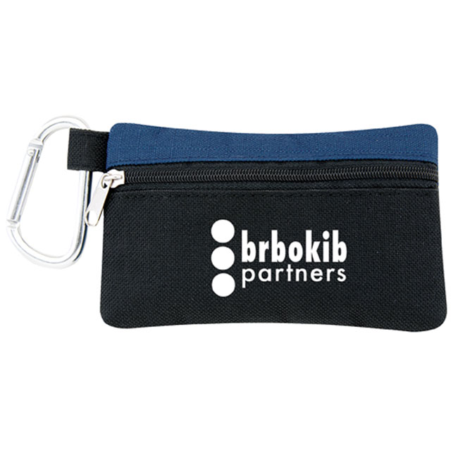 Nylon Montana Tee Pouch with Carabiner Clip