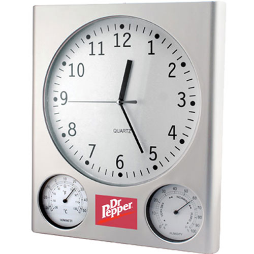 Analog Clock With Weather Station-buy Alarm Clock,Analog Clo