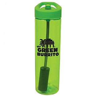 Flip Straw Bottle with Plastic Filter-Buy Sports Bottle,Bike