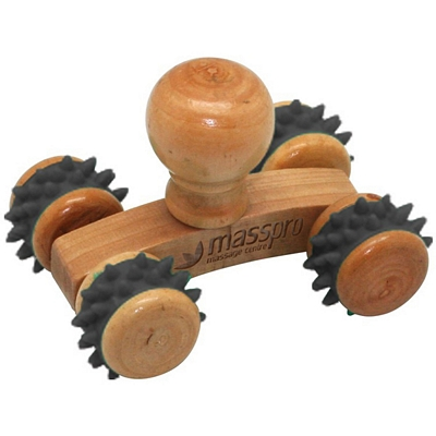 Small Wooden Knob Massager