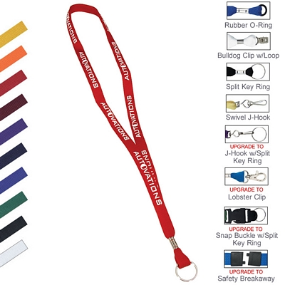 "5/8"" Two Ply Polyester Lanyard"