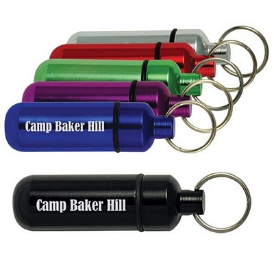 Keyring Aluminum ID Holder
