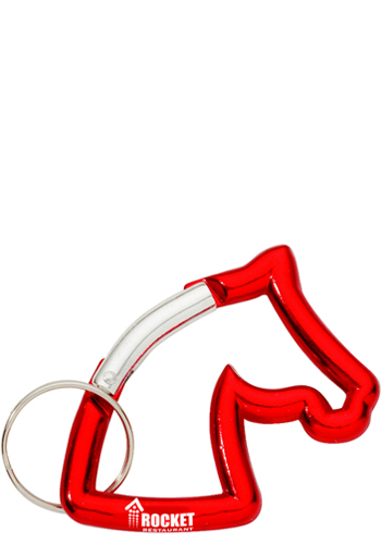 Horse-Shaped Carabiners with Ke
