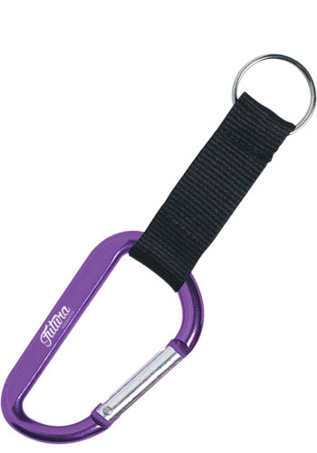 8mm Advertising Carabiners with